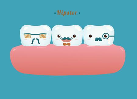 Hipster of dental gang