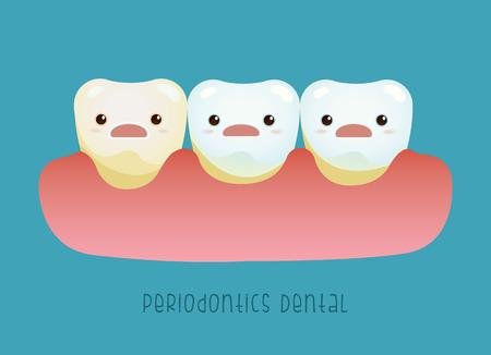 Periodontics Dental vector concept