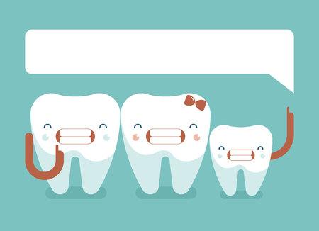 dentist smile: Family dental saying