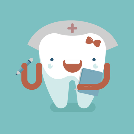 check up: Nurse check up about teeth