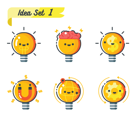 intelligent partnership: concept of business idea Illustration