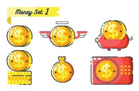 stockmarket: concept of money Illustration