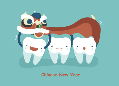 beauty girls: Chinese New Year Of Dental