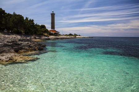 Veli Rat on the island Dugi Otok in Croatia photo