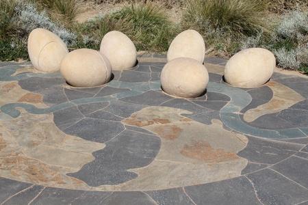 simulate: beach eggs