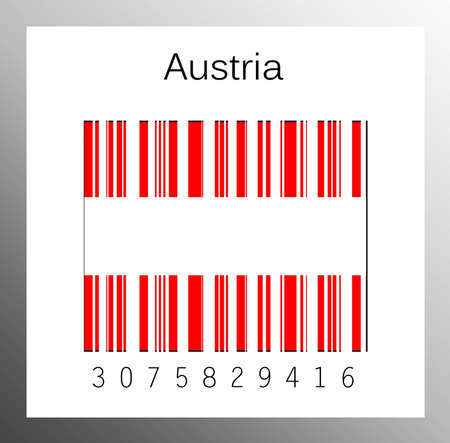 Barcode Austria Stock Photo - 15890906