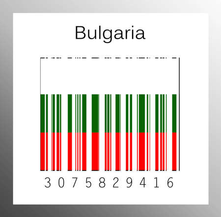 Barcode Bulgaria Stock Photo - 15890902
