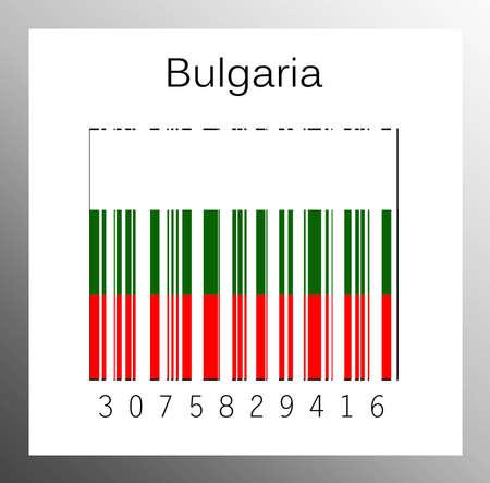 Barcode Bulgaria Stock Photo - 15890902