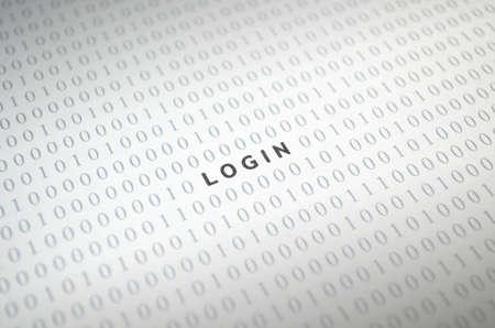 Login with binary code