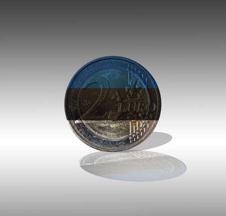 Euro Estonia Stock Photo