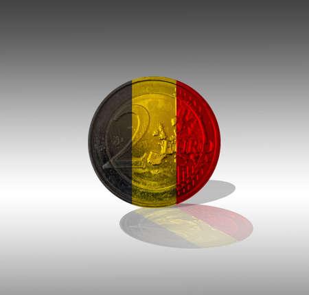 EUR Belgium Stock Photo