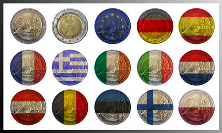 internationally: Different euro coins