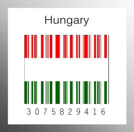 barcode hungary Stock Photo - 15942017