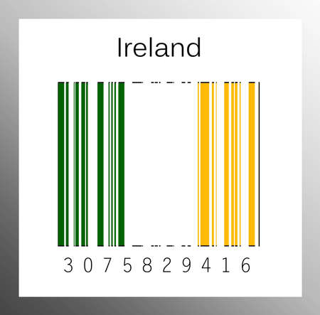 Barcode ireland Stock Photo - 15942016