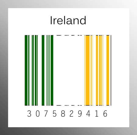 Barcode ireland Stock Photo - 15942016