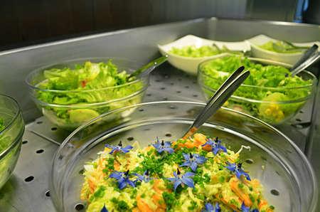 A Salad buffet