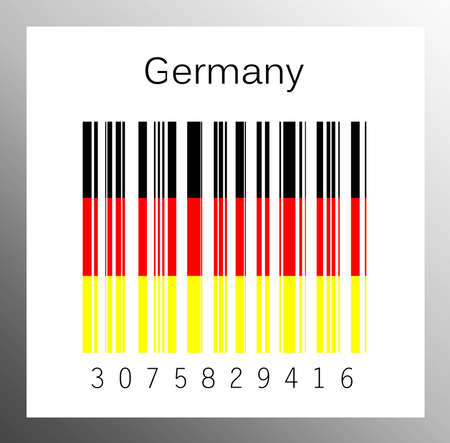 barcode Germany Stock Photo - 15936636
