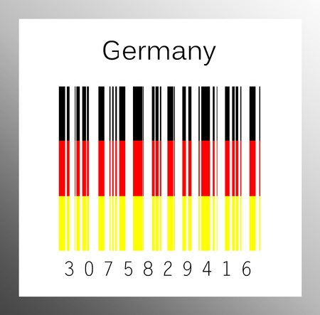 barcode Germany Stock Photo - 15936636