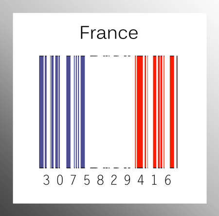 Barcode France Stock Photo - 15936683