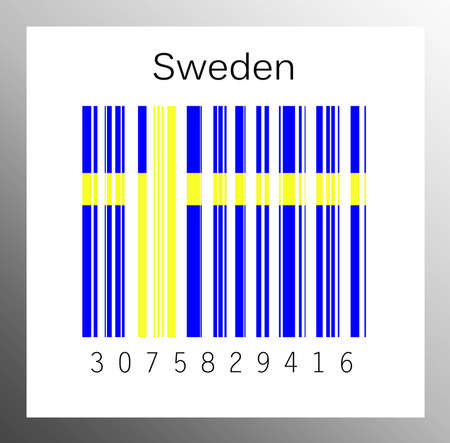 Barcode Sweden Stock Photo - 15936630