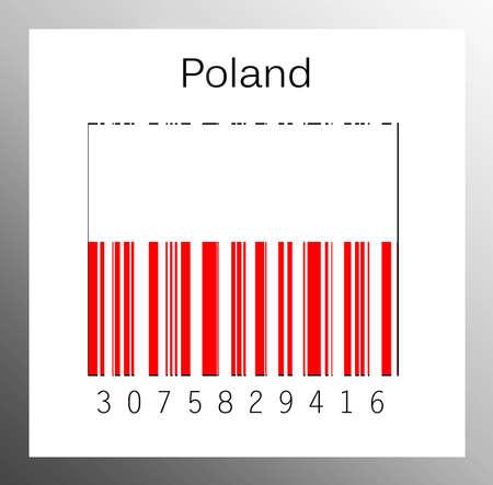 Barcode Poland Stock Photo - 15936679
