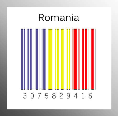 Barcode Romania Stock Photo - 15936684