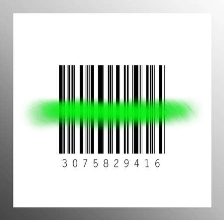 Barcode Scan Stock Photo - 15936618