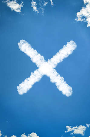 X from clouds