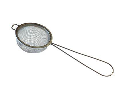 separato: Setaccio (cucina accessorio per separare sostanze)  Archivio Fotografico