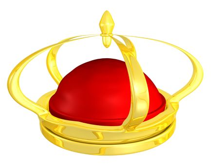 golden crown for King or Emperor   Stock Photo - 4282313
