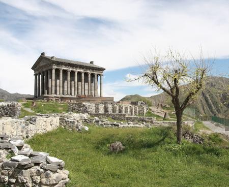 armenia: Hellenistic temple near Garni Armenia