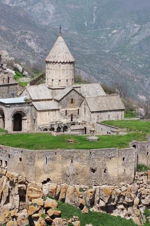 impregnable: Tatev monastery Syunik region Armenia