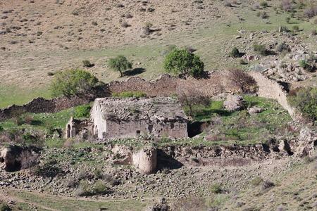 impregnable: the ruins of Shatinavank monastery Armenia