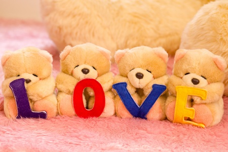 Love Bear Gang Stock Photo - 12584887