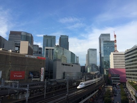 Shinkansen in Tokyo