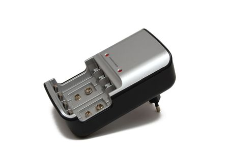 battery charger isolated on a white