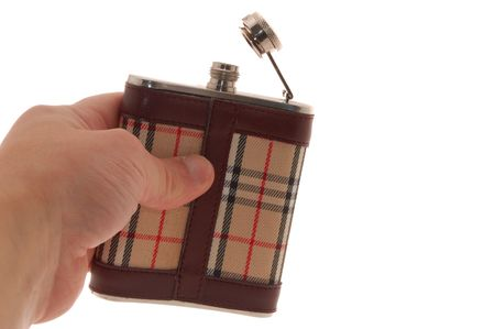Flask from whisky