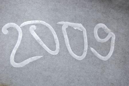 shone: Inscription 2009 made of gel