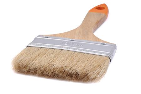 paintbrush isolated on white background Stock Photo