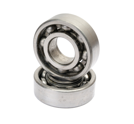 two bearings isolated Stock Photo