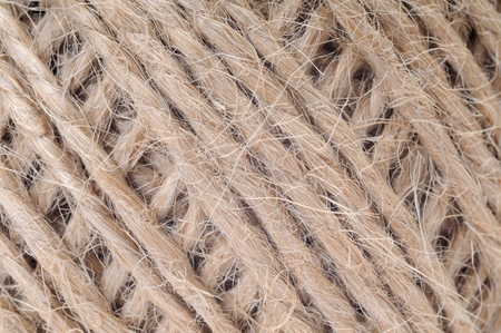 thread in clew close up picture