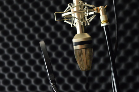 preamp: microphone vocal booth