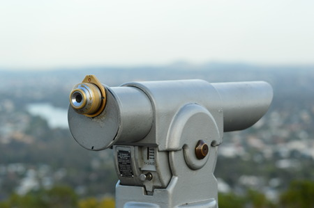operated: Coin Operated Binoculars
