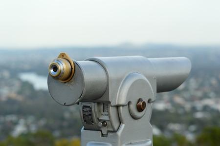 operated: Coin Operated Binoculars