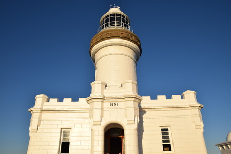 byron: byron bay lighthouse australia Stock Photo