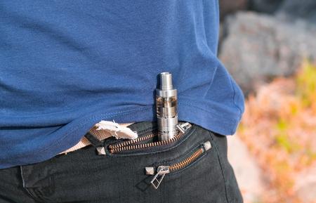 e cig: Electronic Cigarette E-Cig in pocket