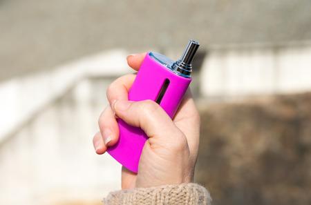 electronic: Electronic Cigarettes Stock Photo