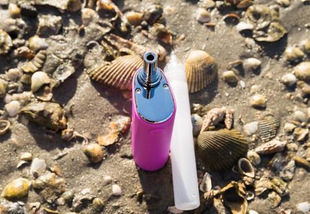 Electronic Cigarettes Stock Photo