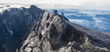 Highest submit  Kinabalu mountain 4095 m   in Kinabalu national park  Kota kinabalu - Malasia