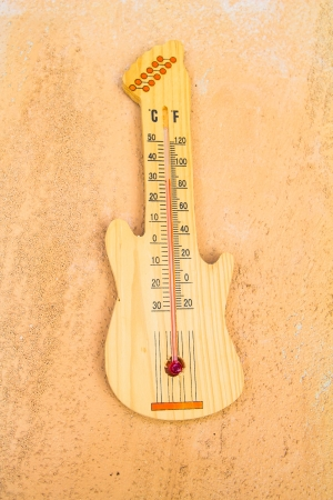 hotter: thermometer guitar